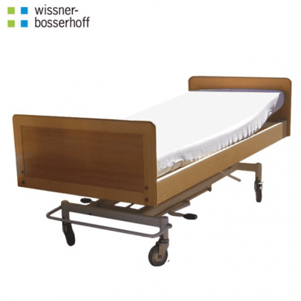 2 Section Hydraulic Home Care Bed