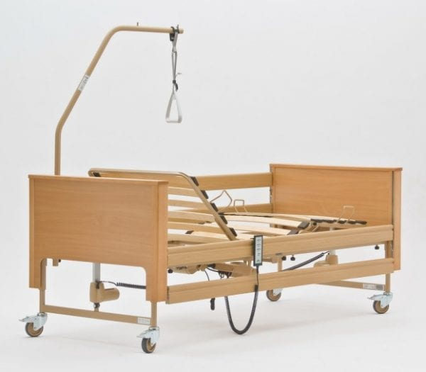 Home Care Bed - Electrically Adjustable - Back End View