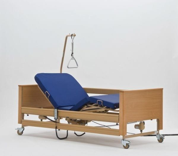 Home Care Bed - Electrically Adjustable - With Mattress