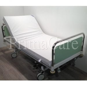 Hospital bed - 2 section - Hydraulic - stiegelmeyer - refurbished
