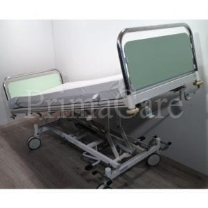Hospital bed - 2 section - Hydraulic - stiegelmeyer - refurbished - Trendelenburg