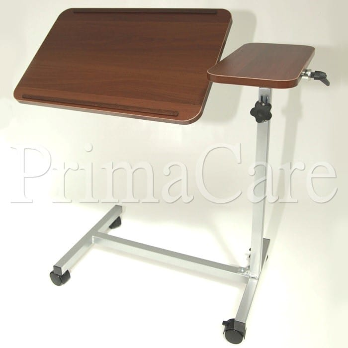 Overbed Table Luxury Adjule Tilting Mobility Aids Hospital Beds Dementia Care