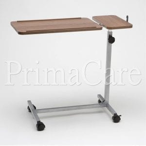 Overbed table - Hospital bed table - Tilting
