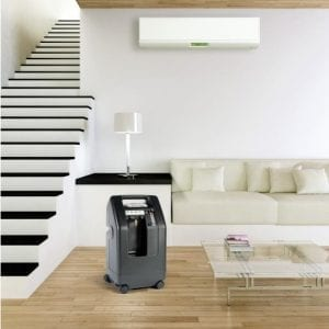 DevilBiss Compact 525 Oxygen Concentrator - Lifestyle Image