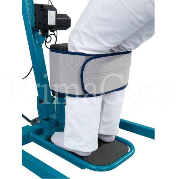 Patient lifter hoist - aks - Torneo - Electric - Feet stand