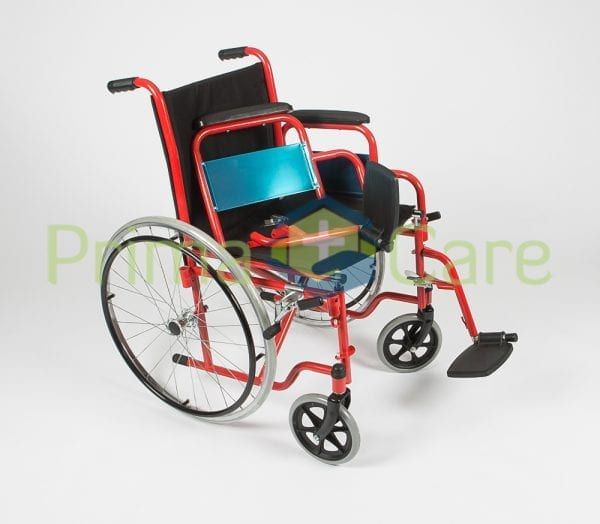 Wheelchair - Delux - Removable sides and foot rests