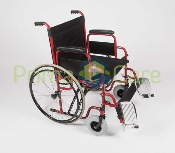 Wheelchair - Heavy Duty - Foot rest up
