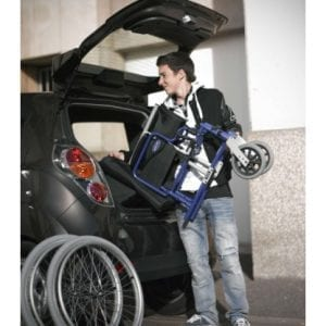 Wheelchair - Invacare - Easily transported