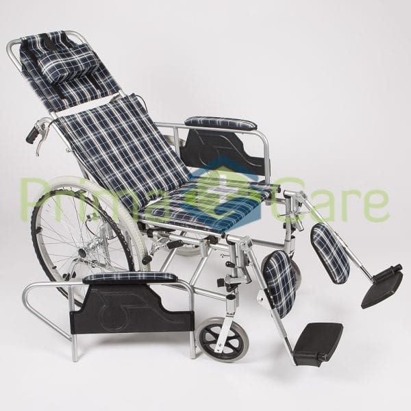 Wheelchair - Recliner - Removable arm rests