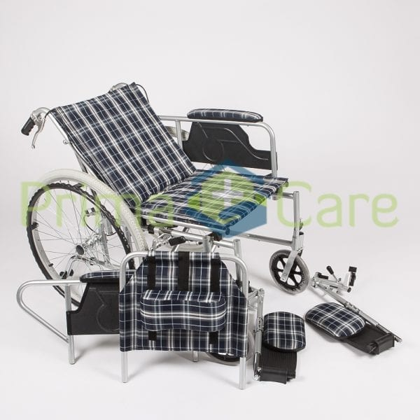 Wheelchair - Recliner - Removable parts