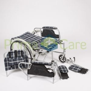 Wheelchair - Recliner - backrest fully reclined