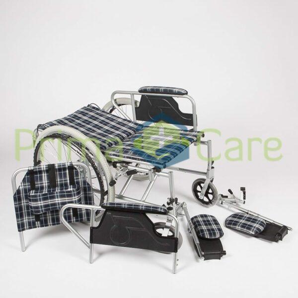 Wheelchair - Recliner - backrest fully reclined