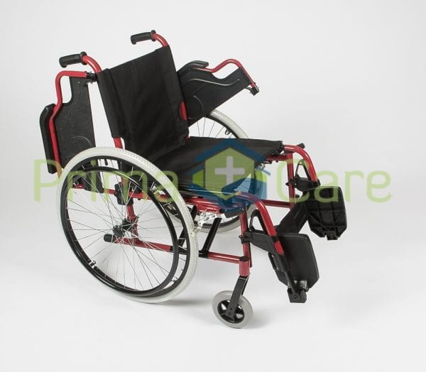 Wheelchair - Ultra Deluxe - Flip up arm rests