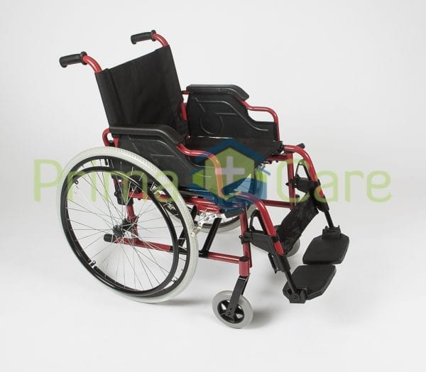 Wheelchair - Ultra Deluxe - Side View
