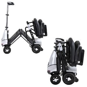 Folding-Mobility-Scooter-White-Mobie