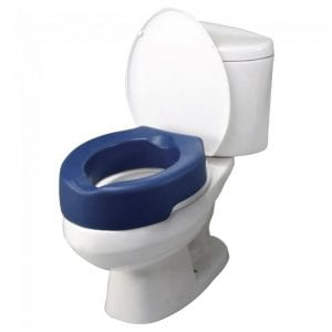 Raised Toilet Seat - PU Foam
