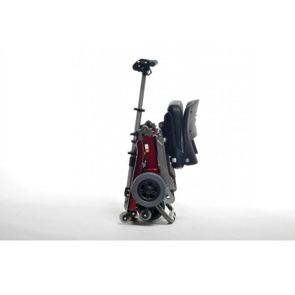 Shoprider - Luggie - Foldable electric mobility scooter - Luggage roller position