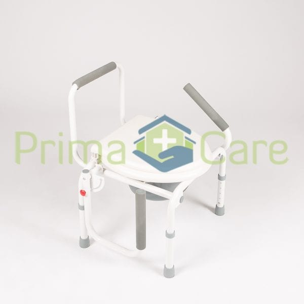 Commode - Drop arm - both arms adjustable
