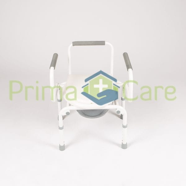 Commode - Drop arm - front view