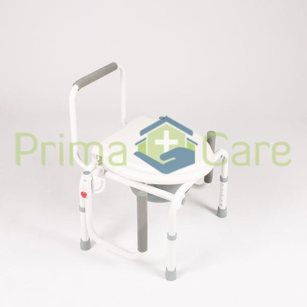 Commode - Drop arms lowered