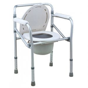 Commode - Aluminium - Foldable