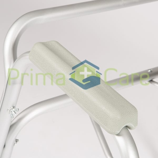Commode - Standard - Aluminium - Arm rest