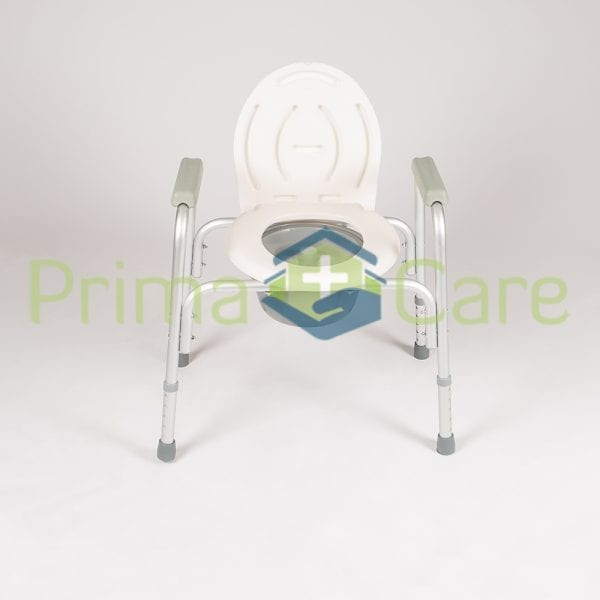 Commode - Standard - Aluminium - Front view