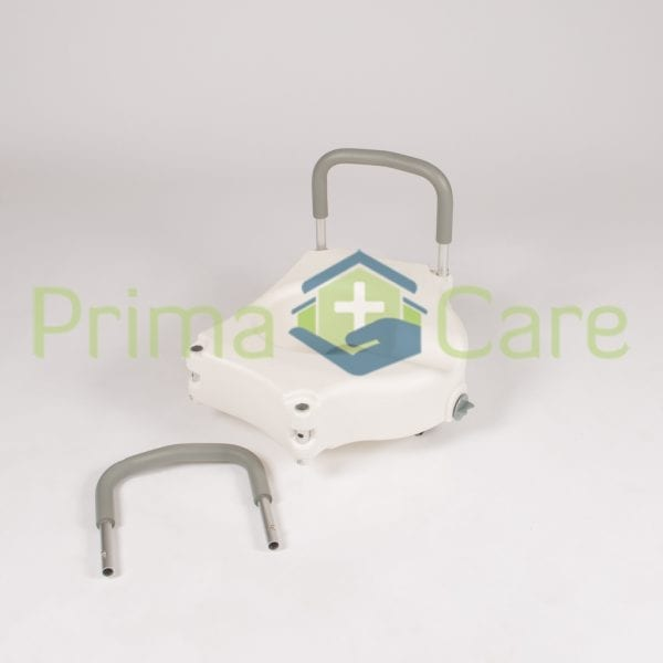 Raised Toilet Seat - With Arms - removable arms