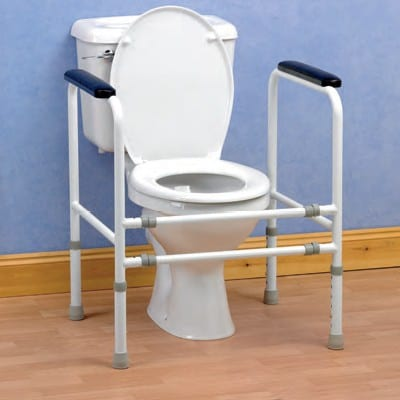 Toilet Safety Frame - Stand alone
