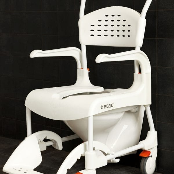 Etac-Clean-Mobile-Shower commode - Over toilet