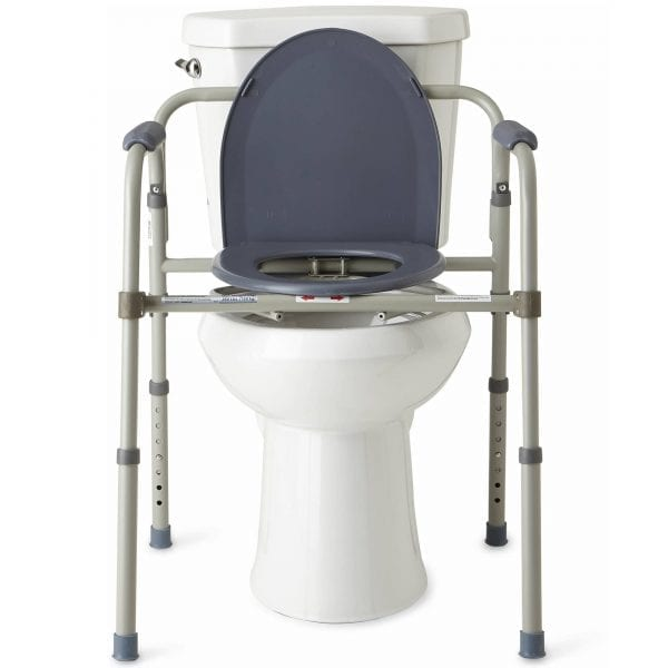 Commode - Standard - Folding - Over toilet