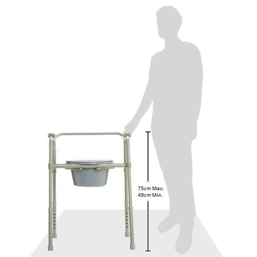 Commode - Standard - Folding - height adjustment