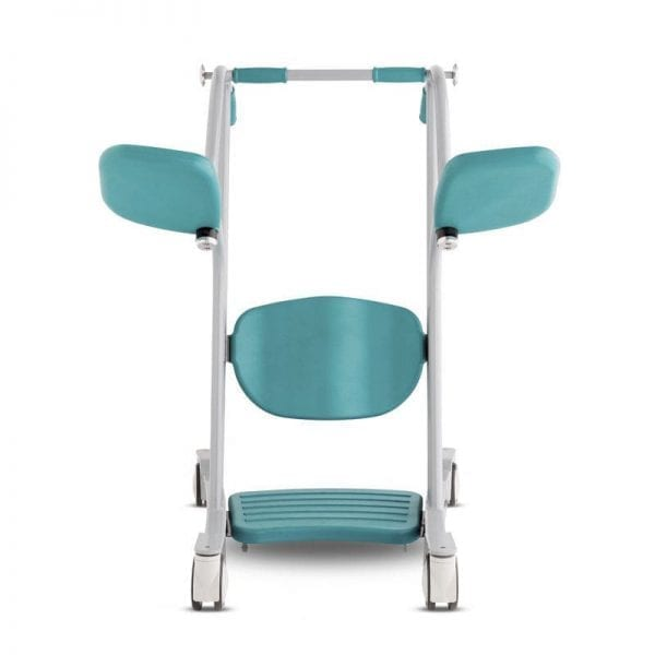 AMI - HandiCare - Sit to Stand Transfer Lifter - Front view and open seat