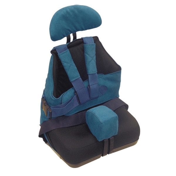 Child Positioning Seat - Drive Medical - Seat2Go - Clipped with head rest