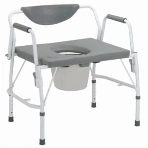 Commode - Drive Medical - Bariatric - Drop Arm