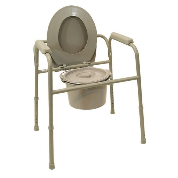 Commode - Drive Medical - TSG 130 - Lid and bucket