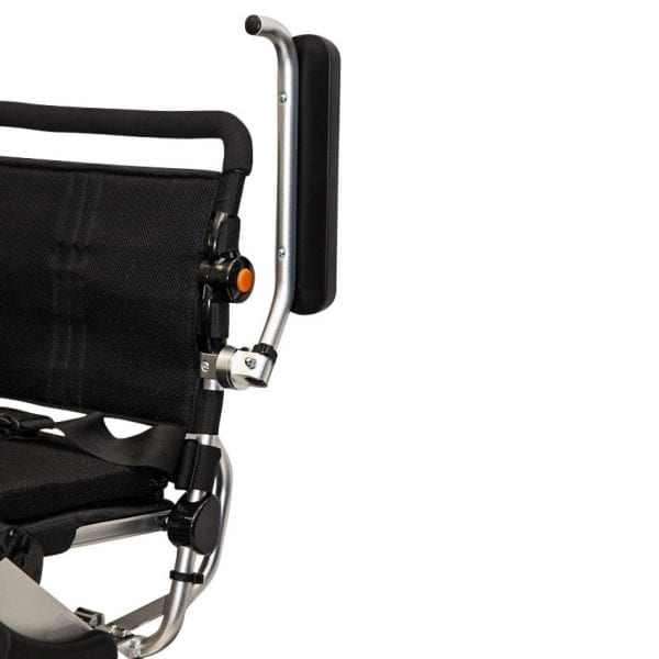 Electric Wheelchair - KD Smart - Foldable - Flip up arm rests