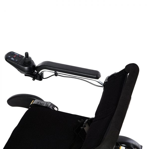 Electric Wheelchair - KD Smart - Foldable - Right arm and controller