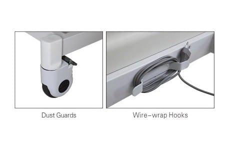 Hospital Bed - Electric - Ultra low - lockable castors