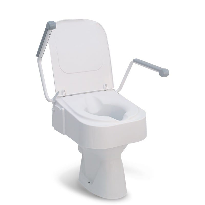 Pleasant Raised Toilet Seat Drive Medical Height Adjustable With Arms Pdpeps Interior Chair Design Pdpepsorg