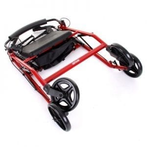 Rollator - Drive Medical - R8 - Folded