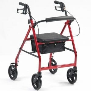 Rollator - Drive Medical - R8 Lightweight Aluminium