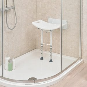 Shower Chair - Drive Medical - Wall mounted - In use