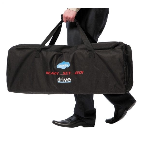 Wheelchair - Drive Medical - Travelite - With carrier bag