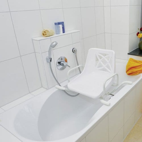 Bath Seat - Drive Medical - Swivel - On bath tub straight