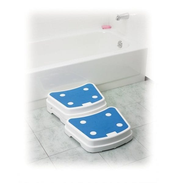 Bath Step - Drive Medical - Portable - In use