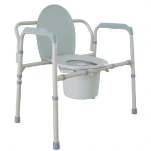 Commode - Drive Medical - Bariatric - Folding