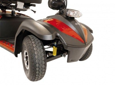 Mobility scooter - Drive M edical - Envoy - Suspension