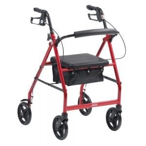 Rollator - Drive Medical - R6 - Lightweight Aluminium