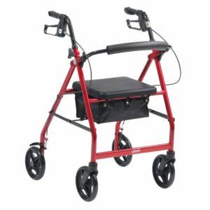 Rollator - Drive Medical - R6 - Lightweight Aluminium